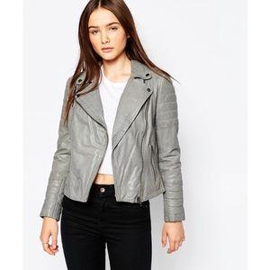 Muubaa Meursault Leather Biker Jacket